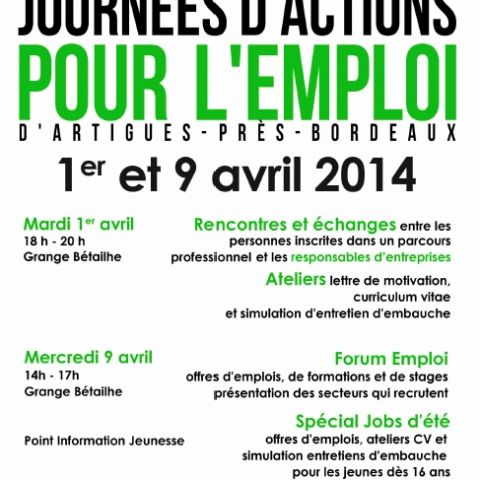 job rencontres bordeaux