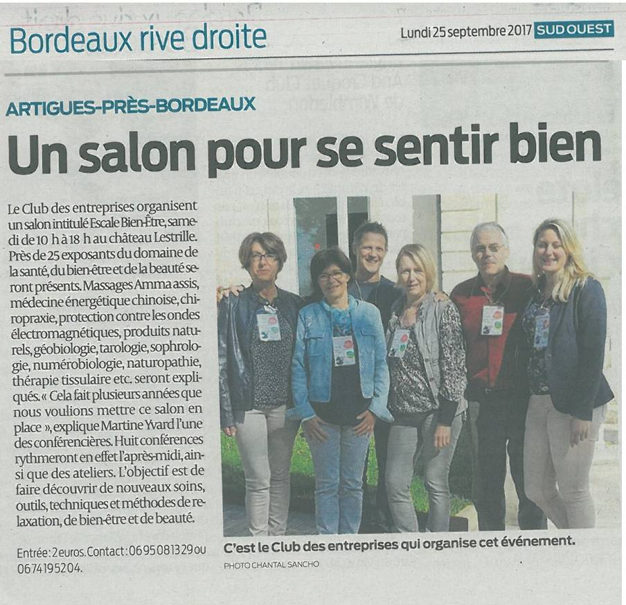 Sud-Ouest 25 sept 2017